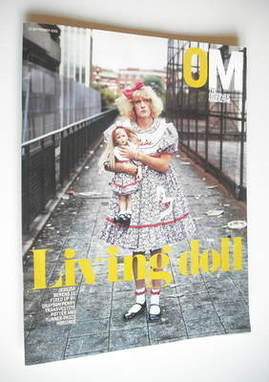 <!--2003-09-21-->The Observer magazine - Grayson Perry cover (21 September