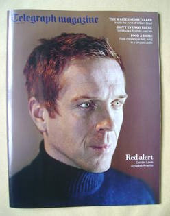 <!--2012-02-04-->Telegraph magazine - Damian Lewis cover (4 February 2012)