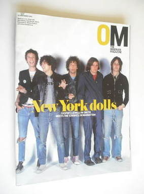 <!--2003-11-23-->The Observer magazine - The Strokes cover (23 November 200