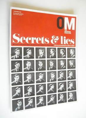 <!--2003-12-07-->The Observer magazine - Secrets & Lies cover (7 December 2