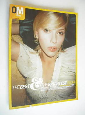 <!--2003-12-28-->The Observer magazine - Scarlett Johansson cover (28 Decem