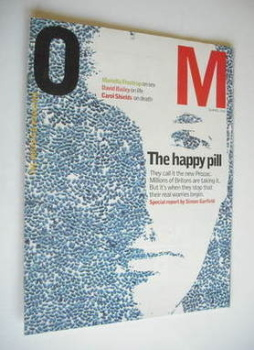 The Observer magazine - The Happy Pill cover (28 April 2002)