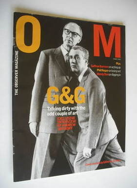 <!--2002-05-05-->The Observer magazine - Gilbert & George cover (5 May 2002