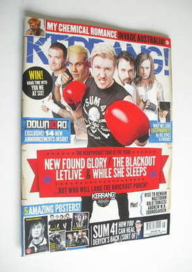 <!--2012-02-04-->Kerrang magazine - The Heavyweight Tour Of The Year cover