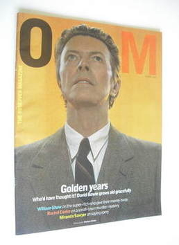 <!--2002-06-09-->The Observer magazine - David Bowie cover (9 June 2002)
