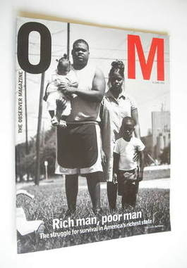 <!--2002-06-16-->The Observer magazine - Rich Man Poor Man cover (16 June 2