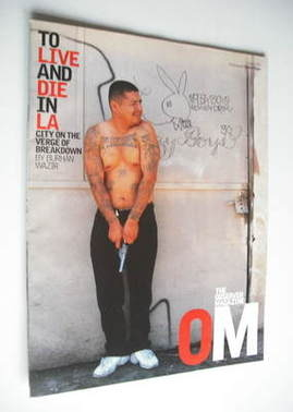 <!--2002-07-07-->The Observer magazine - To Live And Die In LA cover (7 Jul