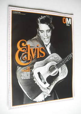 <!--2002-08-11-->The Observer magazine - Elvis Presley cover (11 August 200