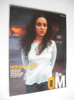 <!--2002-09-29-->The Observer magazine - Norah Jones cover (29 September 20