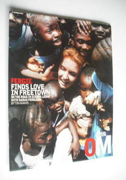 <!--2002-10-27-->The Observer magazine - Sarah Ferguson cover (27 October 2