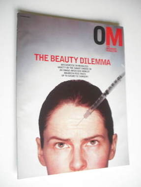 <!--2003-03-16-->The Observer magazine - The Beauty Dilemma cover (16 March
