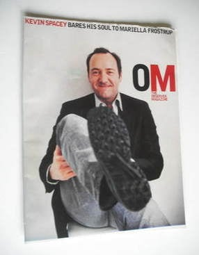<!--2003-03-02-->The Observer magazine - Kevin Spacey cover (2 March 2003)