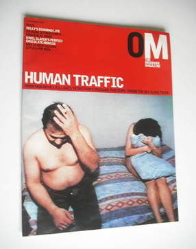 <!--2003-02-23-->The Observer magazine - Human Traffic cover (23 February 2