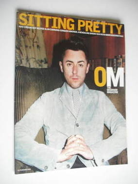 <!--2003-02-16-->The Observer magazine - Alan Cumming cover (16 February 20