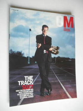 <!--2003-01-19-->The Observer magazine - Alastair Campbell cover (19 Januar