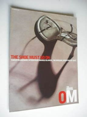 <!--2003-01-12-->The Observer magazine - The Shoe Must Go On cover (12 Janu