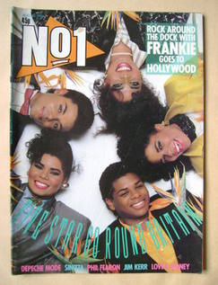 <!--1986-10-23-->No 1 Magazine - Five Star cover (23 August 1986)