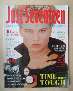 Just Seventeen magazine - 7 December 1988