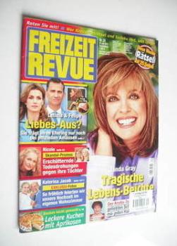 Freizeit Revue magazine - Linda Gray cover (27 July 2011)