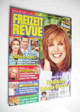 Freizeit Revue magazine - Linda Gray cover (27 July 2011)