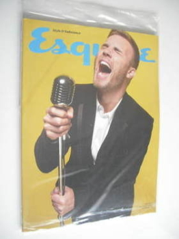 Esquire magazine - Gary Barlow cover (January 2012 - Subscriber's Issue)