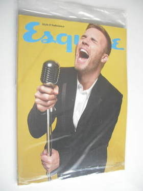 <!--2012-01-->Esquire magazine - Gary Barlow cover (January 2012 - Subscrib