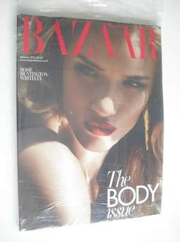 <!--2012-01-->Harper's Bazaar magazine - January 2012 - Rosie Huntington-Wh