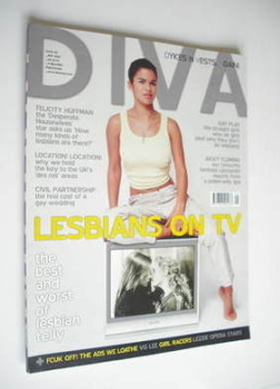 Diva magazine - Lesbians On TV cover (May 2006 - Issue 120)