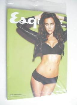 Esquire magazine - Irina Shayk cover (February 2012 - Subscriber's Issue)