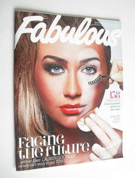 <!--2011-11-19-->Fabulous magazine - Lauren Goodger cover (19 November 2011