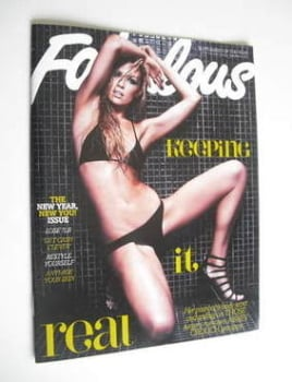 Fabulous magazine - Abbey Crouch cover (31 December 2011)