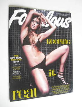<!--2011-12-31-->Fabulous magazine - Abbey Crouch cover (31 December 2011)