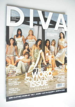 Diva magazine - The L Word Souvenir Issue (September 2006 - Issue 124)