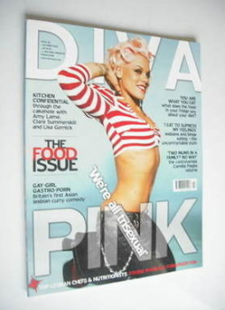 Diva magazine - Pink cover (October 2006 - Issue 125)