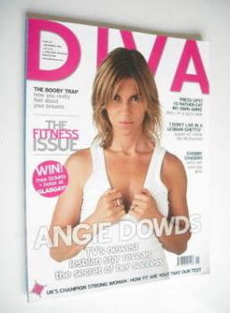 Diva magazine - Angie Dowds cover (November 2006 - Issue 126)