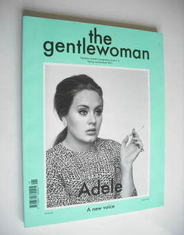 <!--2011-04-->The Gentlewoman magazine - Adele cover (Spring/Summer 2011 - Issue 3)