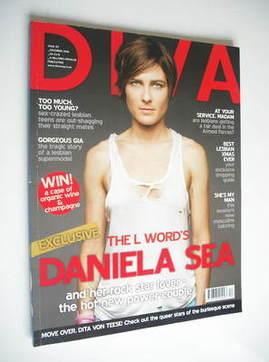 Diva magazine - Daniela Sea cover (December 2006 - Issue 127)
