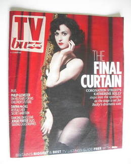 TV Buzz magazine - Katherine Kelly cover (14-20 January 2012)