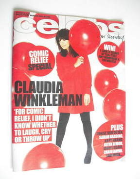 <!--2011-03-13-->Celebs magazine - Claudia Winkleman cover (13 March 2011)