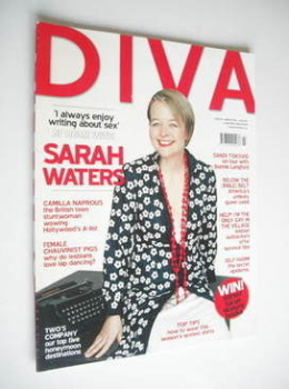 Diva magazine - Sarah Waters cover (March 2006 - Issue 118)