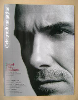 <!--2012-01-21-->Telegraph magazine - David Beckham cover (21 January 2012)