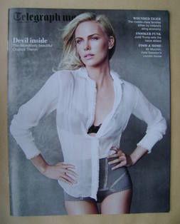 <!--2012-01-14-->Telegraph magazine - Charlize Theron cover (14 January 201