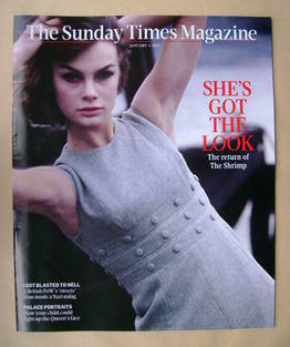 <!--2012-01-01-->The Sunday Times magazine - Jean Shrimpton cover (1 Januar