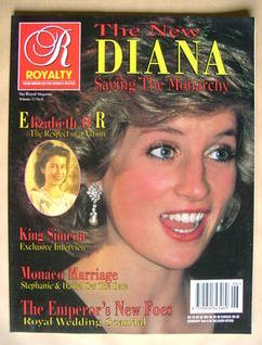 Royalty Monthly magazine - Princess Diana cover (Vol.12 No.6)
