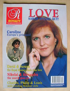 Royalty Monthly magazine - Sarah Ferguson cover (Vol.12 No.4)