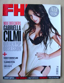 <!--2010-05-->FHM magazine - Gabriella Cilmi cover (May 2010)