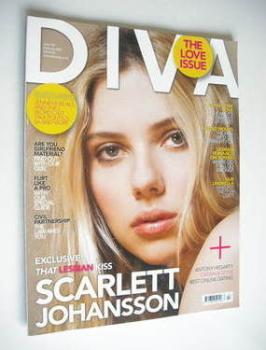 Diva magazine - Scarlett Johansson cover (February 2009 - Issue 153)