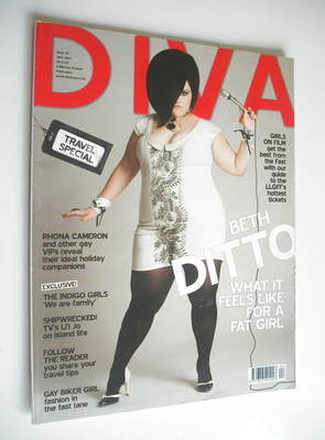 Diva magazine - Beth Ditto cover (April 2007 - Issue 131)