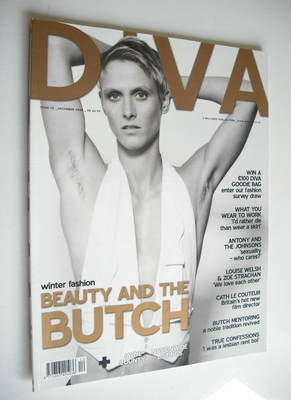 Diva magazine - Beauty And The Butch cover (December 2005 - Issue 115)