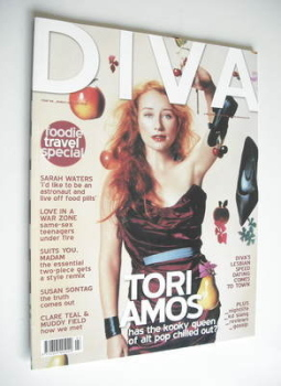 Diva magazine - Tori Amos cover (March 2005 - Issue 106)